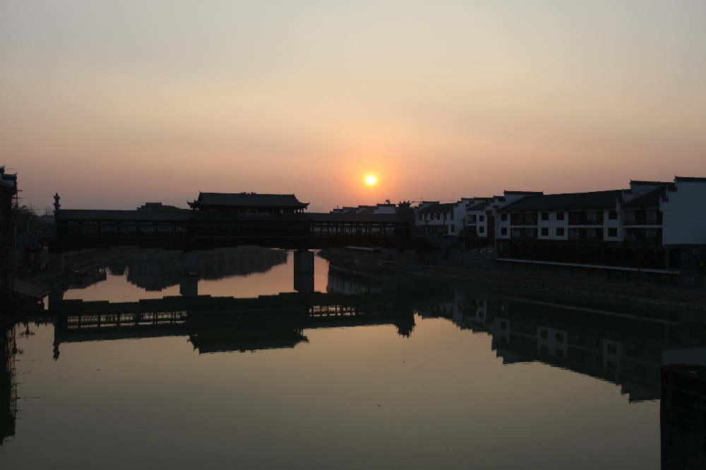 家乡风景美如画,跟大家分享夕阳美景